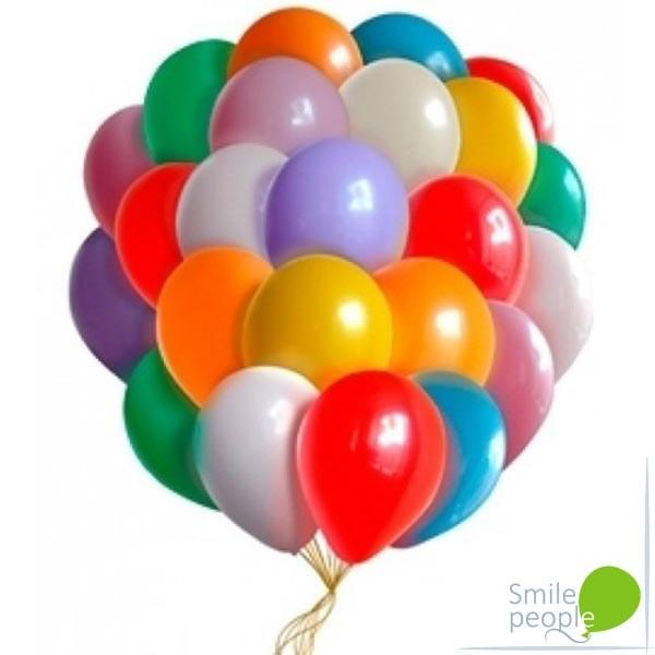 Ассорти из шариков пастель 50 шт