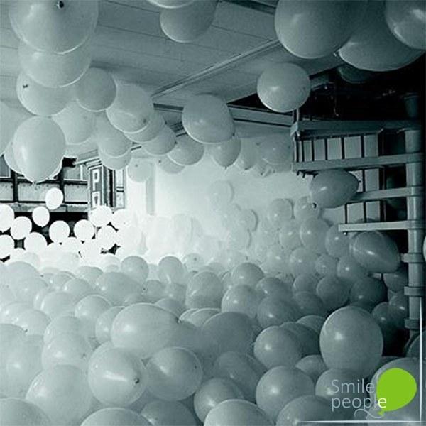 Наполнение комнаты шарами 500 шт.
