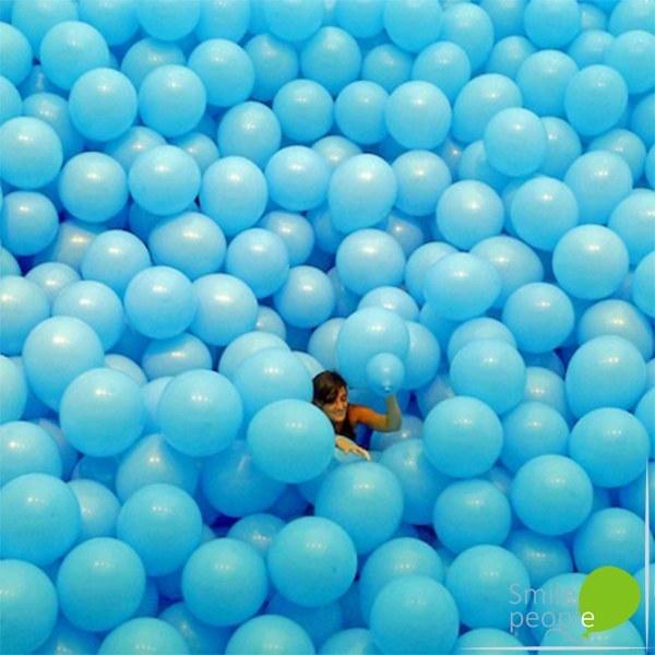 Наполнение комнаты шариками 1000 шт.