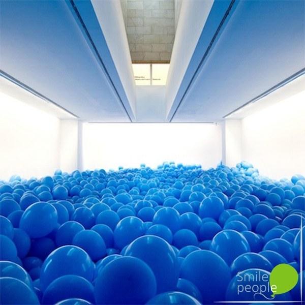 Заполнение комнаты шарами 5000 шт.