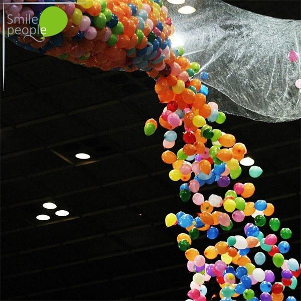Сброс воздушных шариков 1000 шт.