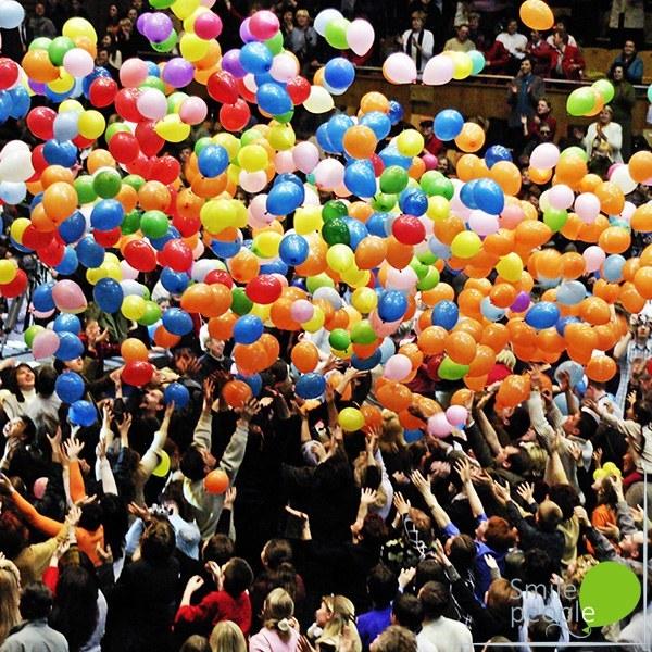 Сброс воздушных шариков 500 шт