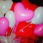 Шары сердечки «Три цвета» 25