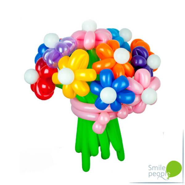 Цветы из шариков букет №10