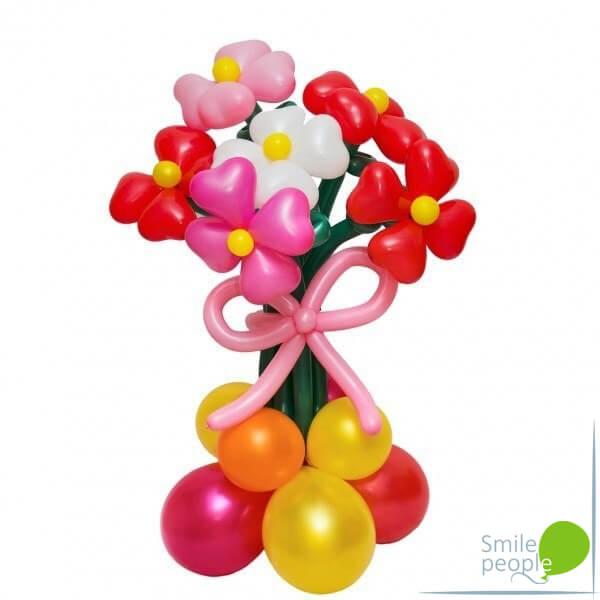 Цветы из шариков букет №11