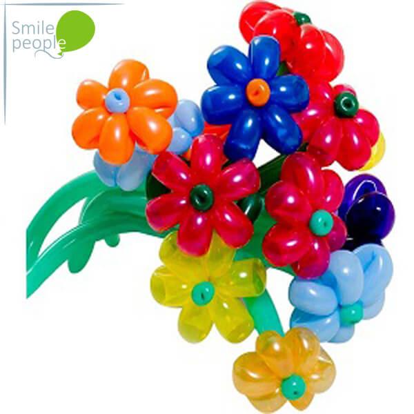 Цветы из шариков Букет №12
