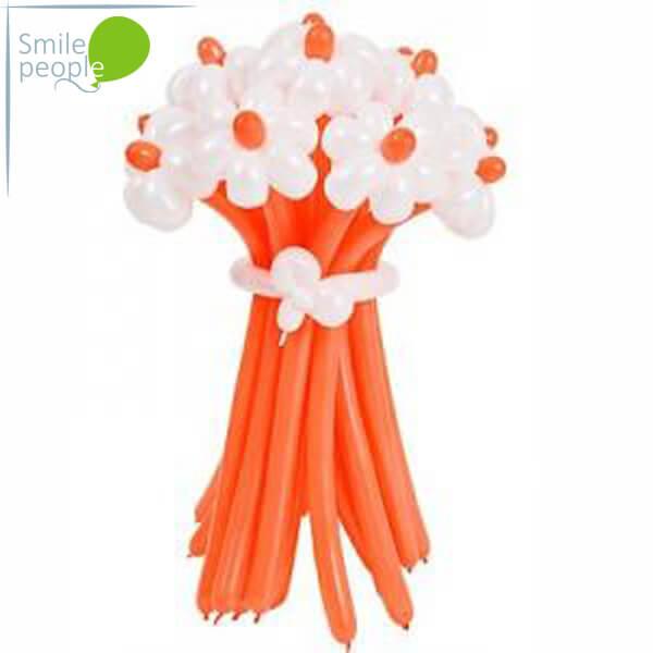 Цветы из шариков букет №2