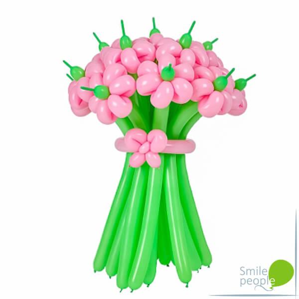 Цветы из шариков букет №5