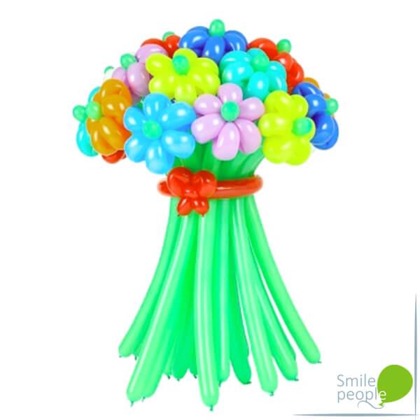 Цветы из шариков букет №6