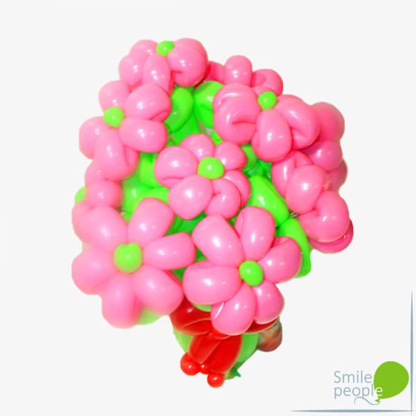 Цветы из шариков букет №7