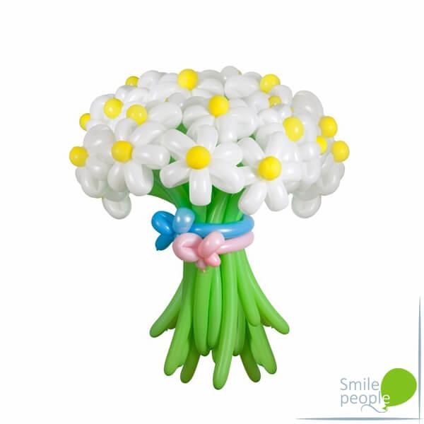 Цветы из шариков букет №8