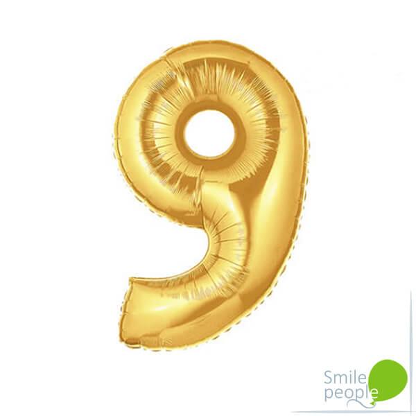 Золотая цифра шар