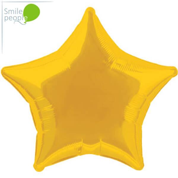 Шарик - звезда из фольги с гелием