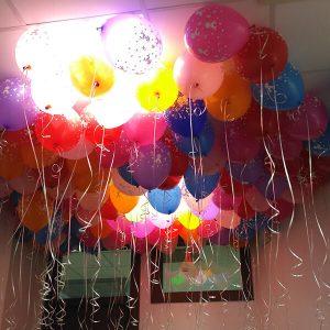 Малышка девочка ассорти пастель 25 шариков