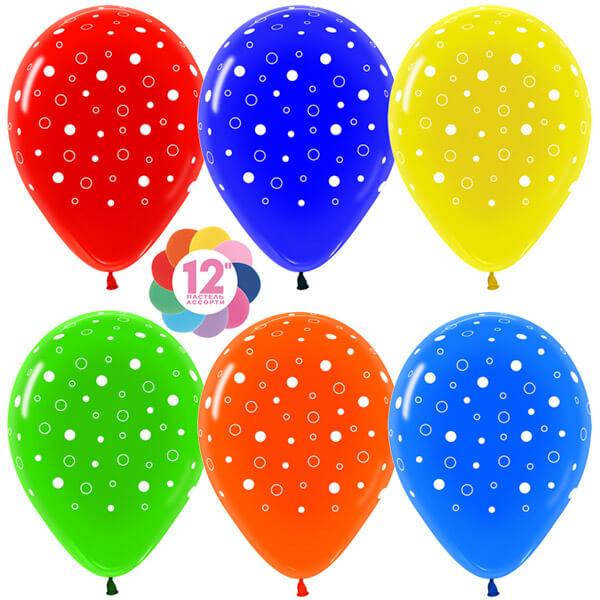 Пузыри ассорти кристалл 25 шариков