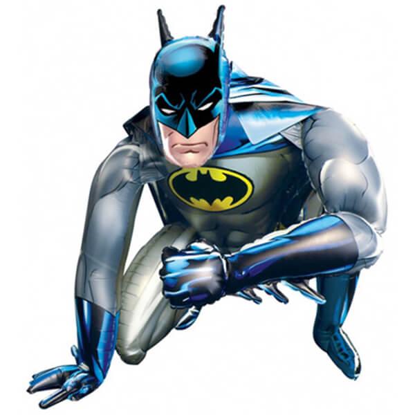Бэтмен ходячий надувной шар фигура 44″/112 см