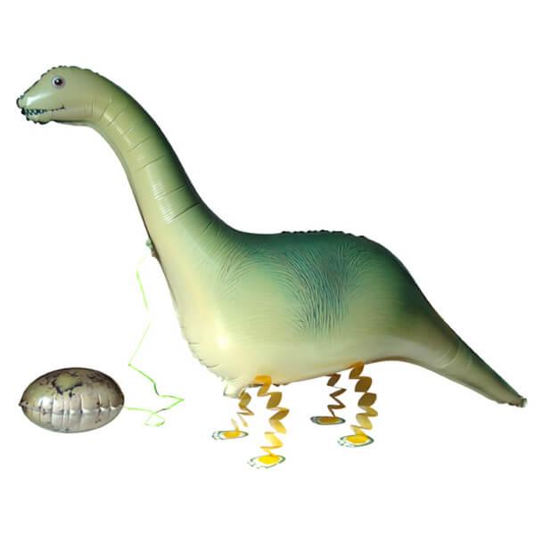 Ходячий шар динозавр 46″/117 см с гелием