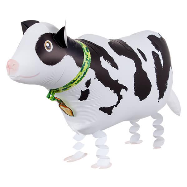 Ходячий шар корова 28″/71 см с гелием