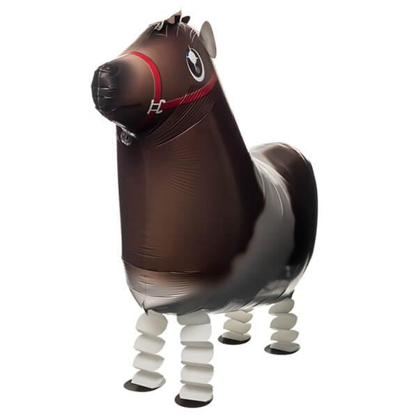 Ходячий шар лошадь 25″/64 см с гелием