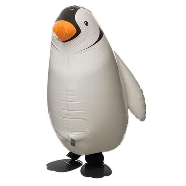 "Ходячий шар пингвин 24""/61 см с гелием"
