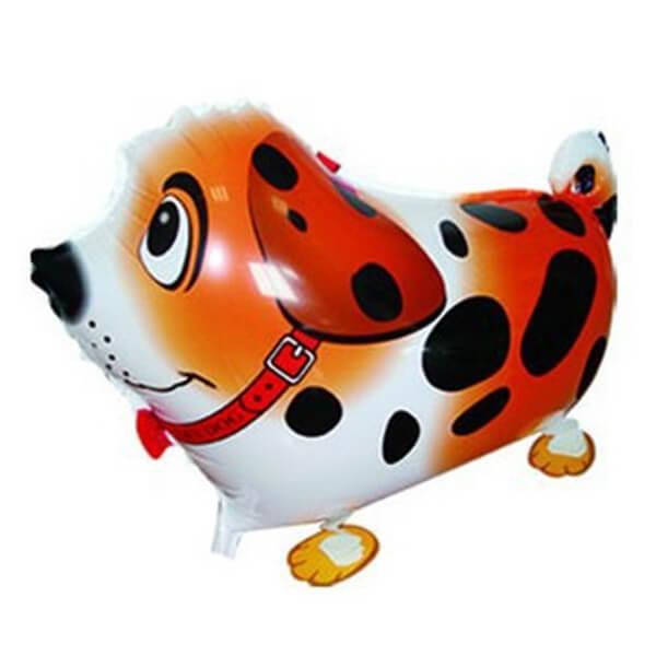 "Ходячий шар собака далматин 24""/61 см с гелием"