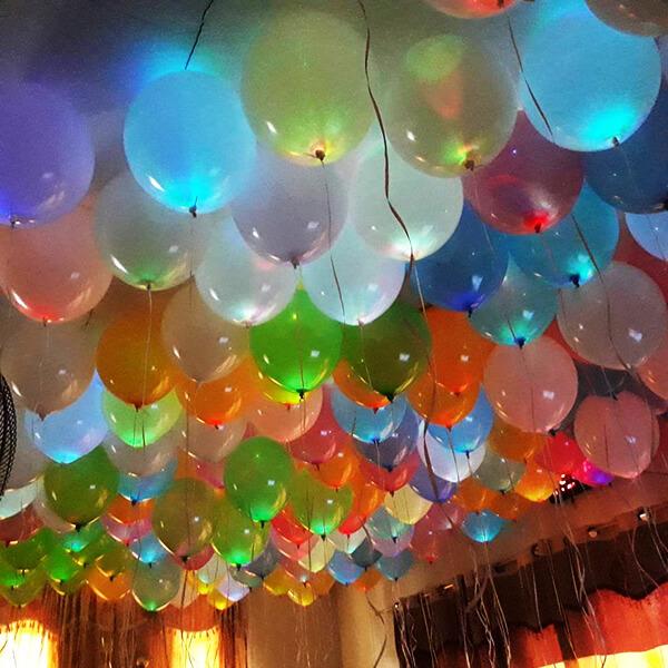 Светящиеся шары ассорти 100 шт